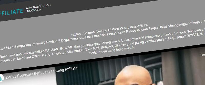 Jasa Pembuatan Website Bandung Murah affiliatejunctionofficial.com Jasa pembuatan website murah Bandung Company Profile affiliatejunctionofficial.com