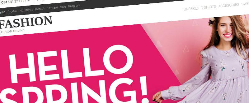 Jasa Pembuatan Website Bandung Murah annbaahirah.com Jasa pembuatan website murah Bandung Toko Online annbaahirah.com