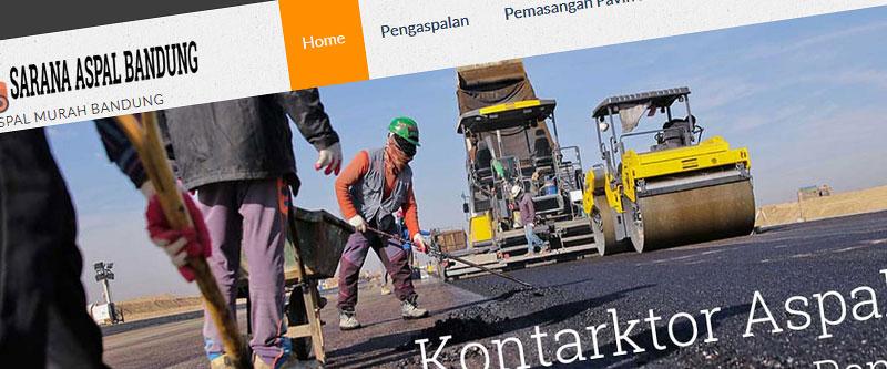 Jasa Pembuatan Website Bandung Murah aspalmurahbandung.com Jasa pembuatan website murah Bandung Company Profile aspalmurahbandung.com