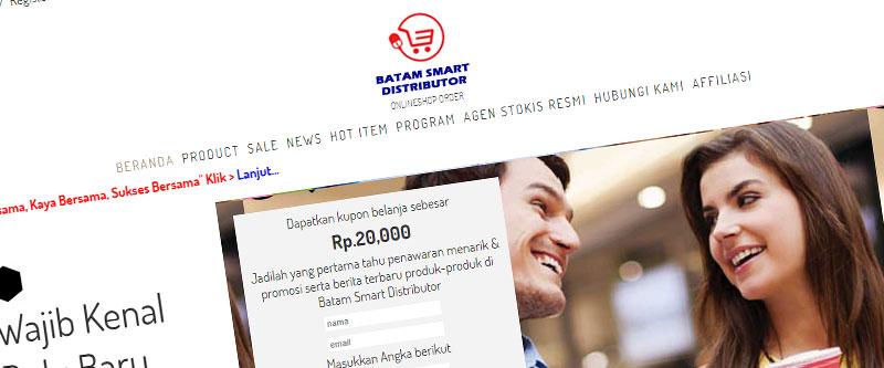 Jasa Pembuatan Website Bandung Murah batamsmartdistributor.com Jasa pembuatan website murah Bandung Toko Online batamsmartdistributor.com
