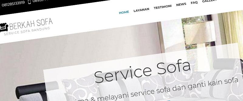 Jasa Pembuatan Website Bandung Murah Berkah Sofa Jasa pembuatan website murah Bandung Company Profile Berkah Sofa