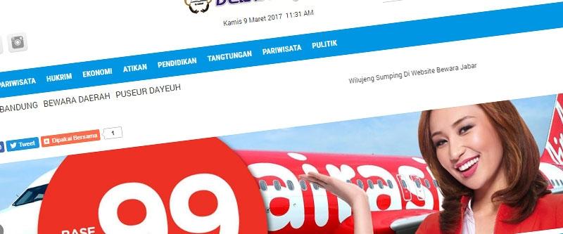 Jasa Pembuatan Website Bandung Murah Bewara Jabar Jasa pembuatan website murah Bandung Berita Bewara Jabar