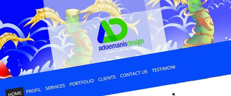 Jasa Pembuatan Website Bandung Murah  Jasa pembuatan website murah Bandung Company Profile Adoemanis Design