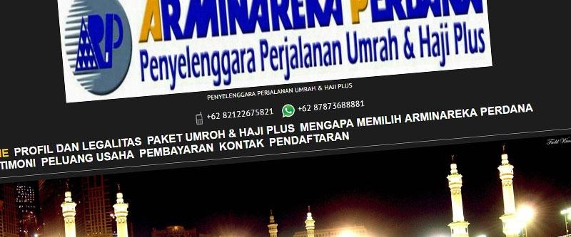 Jasa Pembuatan Website Bandung Murah  Jasa pembuatan website murah Bandung Company Profile Arminareka Perdana Utama