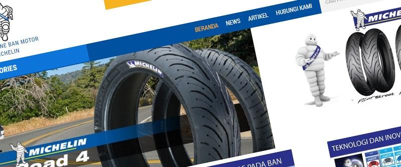 Jasa Pembuatan Website Bandung Murah  Jasa pembuatan website murah Bandung Company Profile Ban Michelin