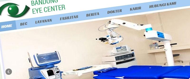 Jasa Pembuatan Website Bandung Murah  Jasa pembuatan website murah Bandung Company Profile Bandung Eye Center