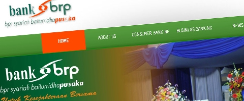 Jasa Pembuatan Website Bandung Murah  Jasa pembuatan website murah Bandung Company Profile Bank BRP