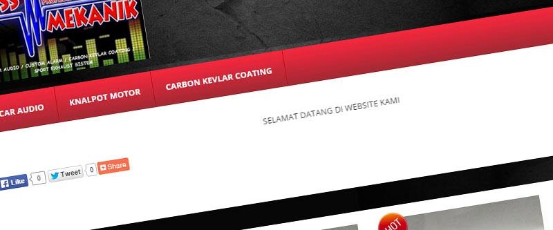 Jasa Pembuatan Website Bandung Murah  Jasa pembuatan website murah Bandung Company Profile Bass Mekanik
