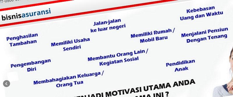 Jasa Pembuatan Website Bandung Murah  Jasa pembuatan website murah Bandung Company Profile Bisnis Asuransi