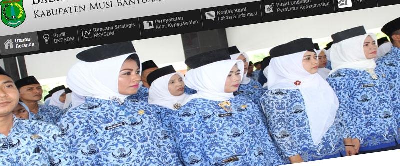 Jasa Pembuatan Website Bandung Murah  Jasa pembuatan website murah Bandung Company Profile BKD Banyu Asin