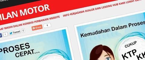 Jasa Pembuatan Website Bandung Murah  Jasa pembuatan website murah Bandung Company Profile Cicilan Motor