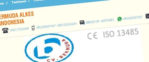 Jasa Pembuatan Website Bandung Murah  Jasa pembuatan website murah Bandung Company Profile CV Bermuda