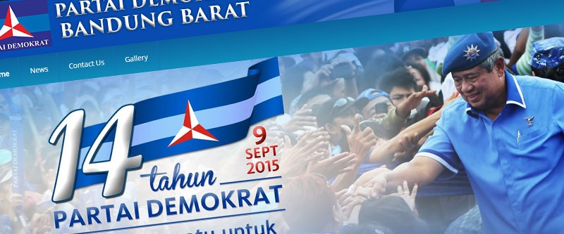 Jasa Pembuatan Website Bandung Murah  Jasa pembuatan website murah Bandung Company Profile Demokrat Bandung Barat