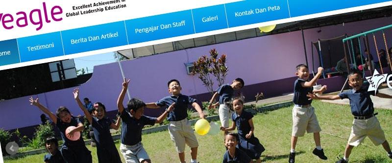 Jasa Pembuatan Website Bandung Murah  Jasa pembuatan website murah Bandung Company Profile Eagle.sch.id