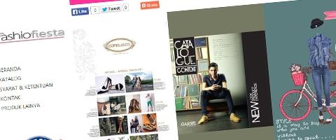 Jasa Pembuatan Website Bandung Murah  Jasa pembuatan website murah Bandung Company Profile Fashion Fiesta
