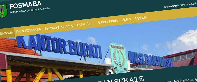 Jasa Pembuatan Website Bandung Murah  Jasa pembuatan website murah Bandung Company Profile Fosmaba
