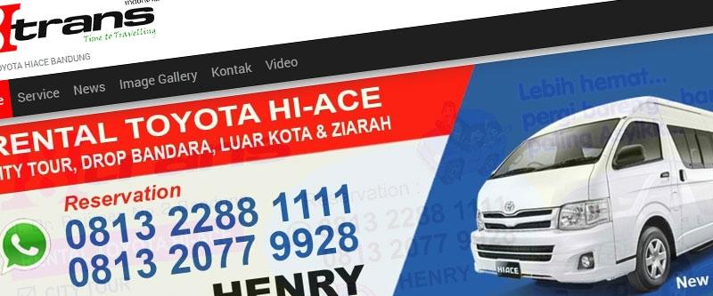 Jasa Pembuatan Website Bandung Murah  Jasa pembuatan website murah Bandung Company Profile h8trans