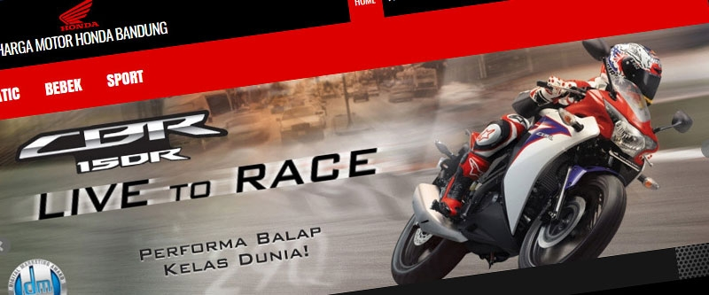 Jasa Pembuatan Website Bandung Murah  Jasa pembuatan website murah Bandung Company Profile Harga Motor Honda Bandung
