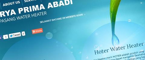 Jasa Pembuatan Website Bandung Murah  Jasa pembuatan website murah Bandung Company Profile Kpawaterheater