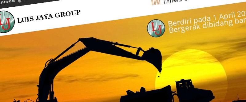 Jasa Pembuatan Website Bandung Murah  Jasa pembuatan website murah Bandung Company Profile Luis Jaya Group