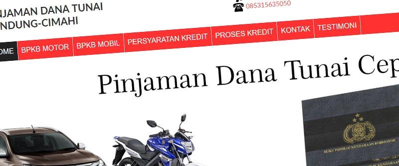 Jasa Pembuatan Website Bandung Murah  Jasa pembuatan website murah Bandung Company Profile Pinjaman Dana Tunai Bandung Cmahi