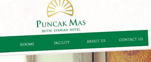 Jasa Pembuatan Website Bandung Murah  Jasa pembuatan website murah Bandung Company Profile Puncak Mas