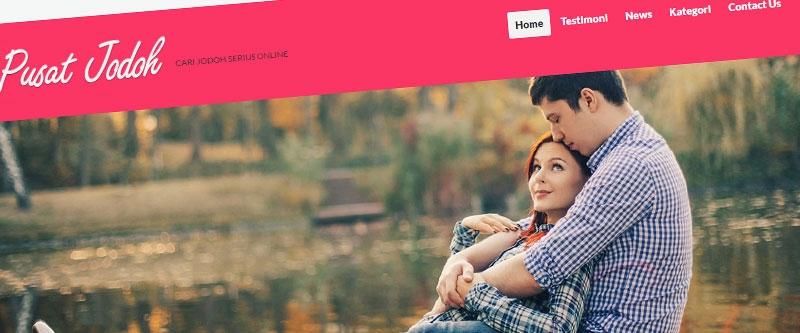 Jasa Pembuatan Website Bandung Murah  Jasa pembuatan website murah Bandung Company Profile Pusat Jodoh