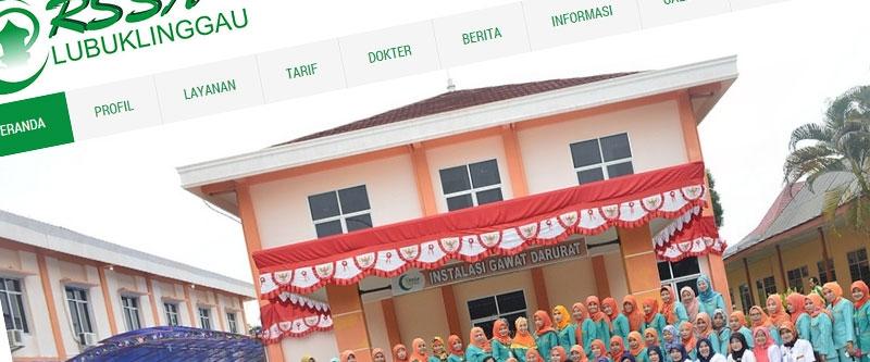 Jasa Pembuatan Website Bandung Murah  Jasa pembuatan website murah Bandung Company Profile Rsud Sitiaisyah