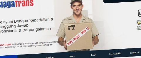 Jasa Pembuatan Website Bandung Murah  Jasa pembuatan website murah Bandung Company Profile Siaga Trans