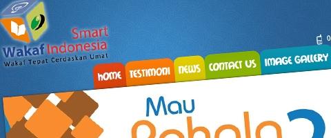 Jasa Pembuatan Website Bandung Murah  Jasa pembuatan website murah Bandung Company Profile Smart Wakaf Indonesia