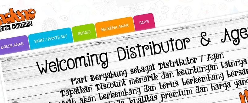 Jasa Pembuatan Website Bandung Murah  Jasa pembuatan website murah Bandung Company Profile Thaluna Kids