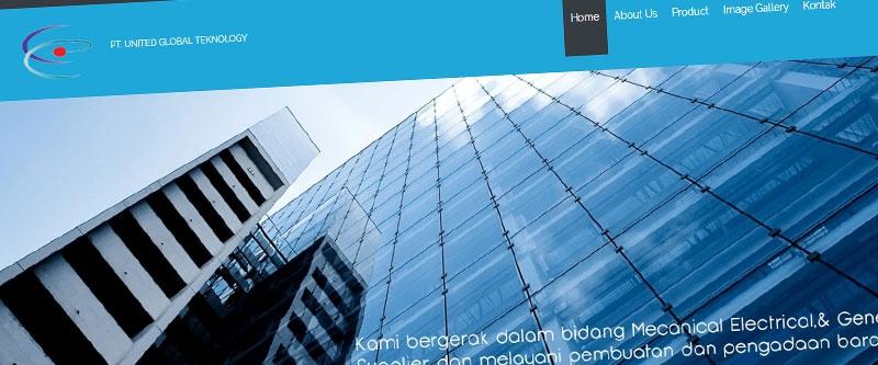 Jasa Pembuatan Website Bandung Murah  Jasa pembuatan website murah Bandung Company Profile ugt.co.id