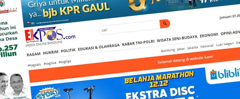 Jasa Pembuatan Website Bandung Murah ekpos.com Jasa pembuatan website murah Bandung Berita ekpos.com