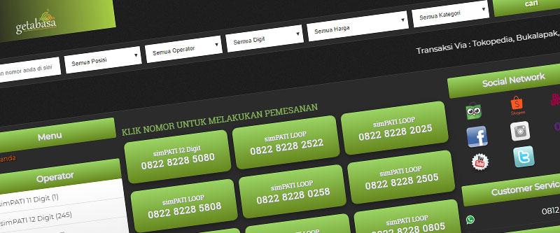 Jasa Pembuatan Website Bandung Murah getabasa.id Jasa pembuatan website murah Bandung Nomor Cantik getabasa.id