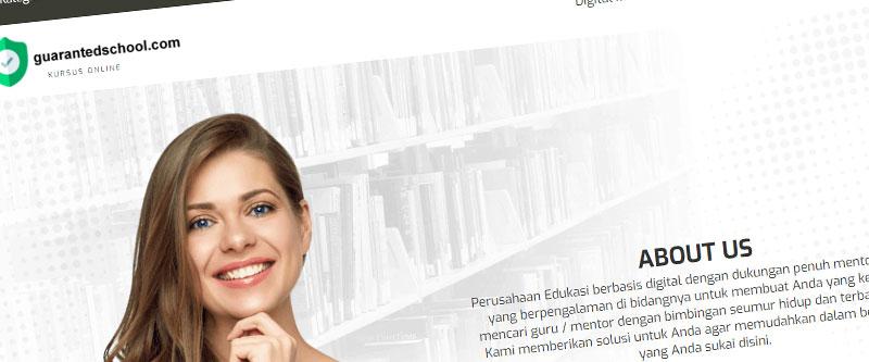 Jasa Pembuatan Website Bandung Murah guarantedschool.com Jasa pembuatan website murah Bandung Katalog Produk guarantedschool.com