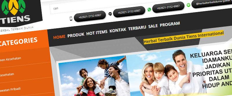 Jasa Pembuatan Website Bandung Murah herbalterbaikdunia.com Jasa pembuatan website murah Bandung Toko Online herbalterbaikdunia.com