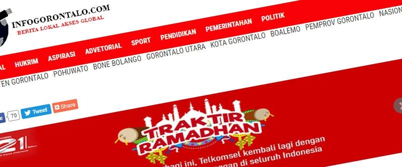 Jasa Pembuatan Website Bandung Murah Info Gorontalo Jasa pembuatan website murah Bandung Berita Info Gorontalo