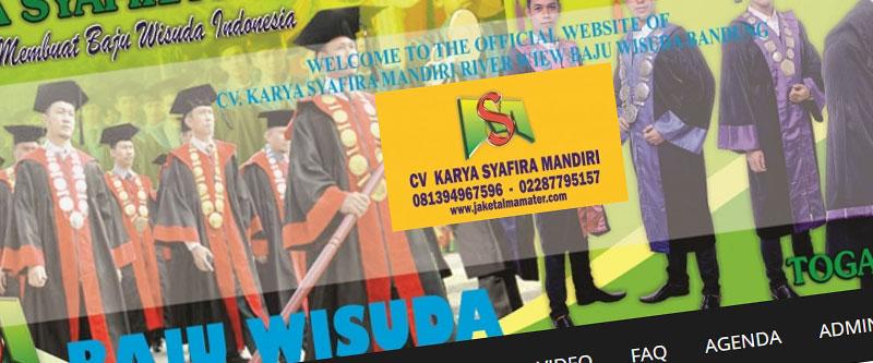 Jasa Pembuatan Website Bandung Murah jaketalmamater.com Jasa pembuatan website murah Bandung Company Profile jaketalmamater.com