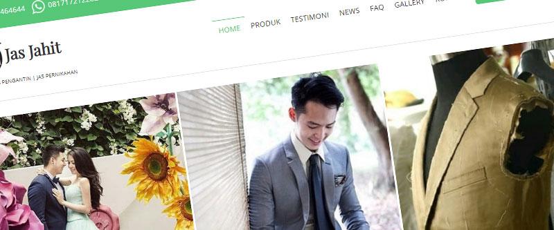 Jasa Pembuatan Website Bandung Murah jasjahit.com Jasa pembuatan website murah Bandung Company Profile jasjahit.com