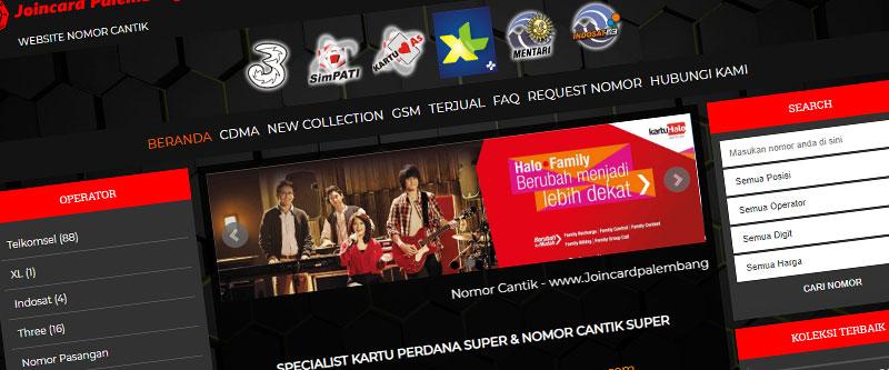 Jasa Pembuatan Website Bandung Murah joincardpalembang.com Jasa pembuatan website murah Bandung Nomor Cantik joincardpalembang.com
