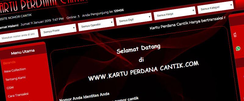 Jasa Pembuatan Website Bandung Murah kartuperdanacantik.com Jasa pembuatan website murah Bandung Nomor Cantik kartuperdanacantik.com
