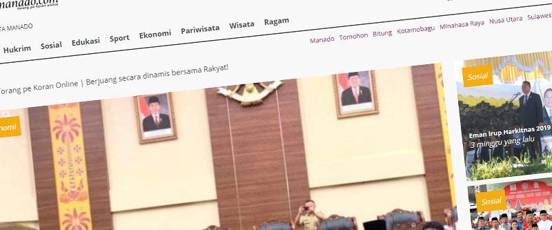 Jasa Pembuatan Website Bandung Murah kilasmanado.com Jasa pembuatan website murah Bandung Berita kilasmanado.com