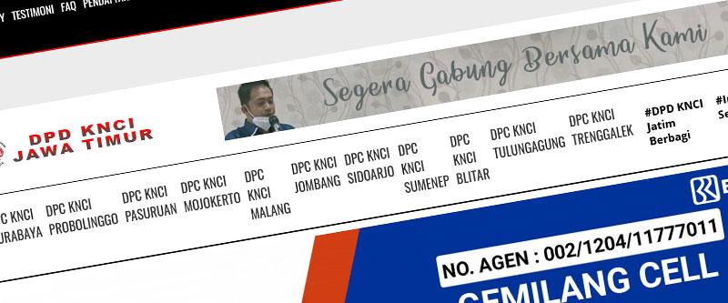 Jasa Pembuatan Website Bandung Murah KNCI Jaw Timur Jasa pembuatan website murah Bandung Berita KNCI Jaw Timur