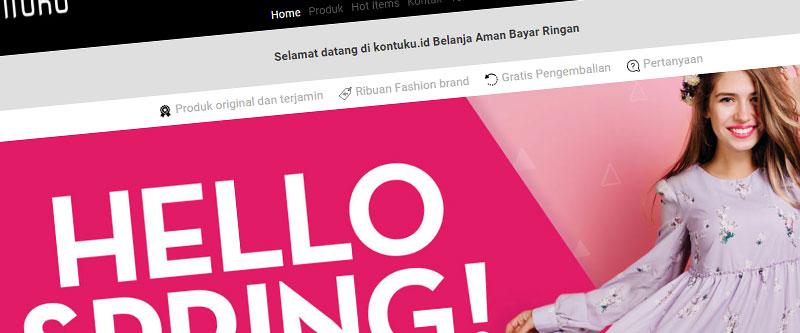 Jasa Pembuatan Website Bandung Murah kontuku.id Jasa pembuatan website murah Bandung Toko Online kontuku.id