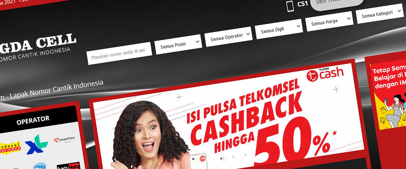 Jasa Pembuatan Website Bandung Murah Magda Cell Jasa pembuatan website murah Bandung Nomor Cantik Magda Cell