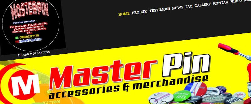 Jasa Pembuatan Website Bandung Murah masterpinbandung.com Jasa pembuatan website murah Bandung Company Profile masterpinbandung.com