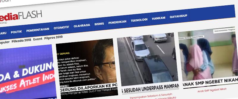 Jasa Pembuatan Website Bandung Murah mediaflash.id Jasa pembuatan website murah Bandung Berita mediaflash.id
