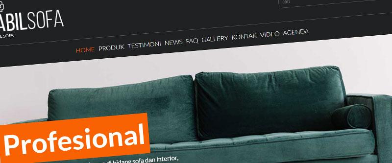 Jasa Pembuatan Website Bandung Murah nabilsofa.com Jasa pembuatan website murah Bandung Company Profile nabilsofa.com