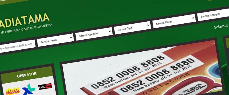Jasa Pembuatan Website Bandung Murah nadiatama.com Jasa pembuatan website murah Bandung Nomor Cantik nadiatama.com