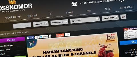 Jasa Pembuatan Website Bandung Murah  Jasa pembuatan website murah Bandung Nomor Cantik bossnomor